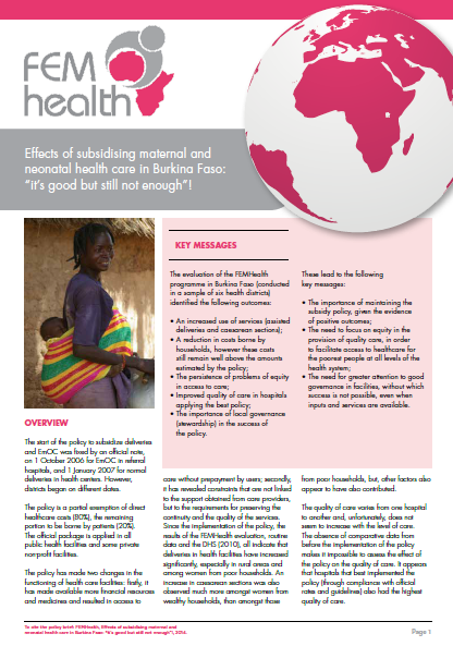 FEMHealth brief
