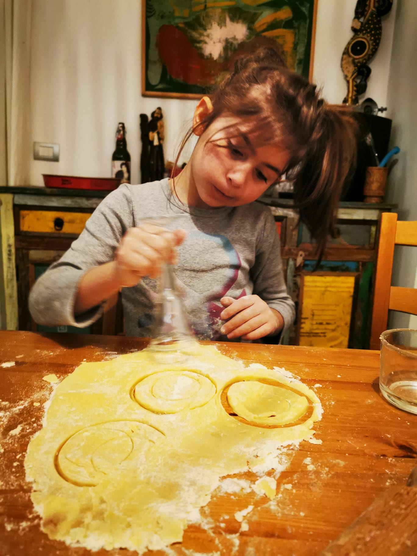 We all love to make homemade pasta