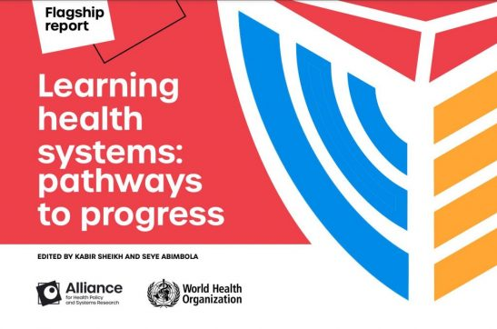 Launch of the Alliance flagship report on learning health systems